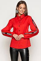 Модная женская рубашка в 3х цветах Мирта
