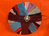Трусы хлопок с кружевом размер 44-48, один цвет в упаковке