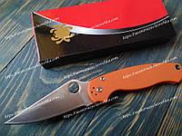 Нож складной S30-V0 Spyderko Orange