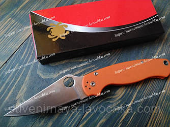 Нож складной S30-V0 Spyder Orange