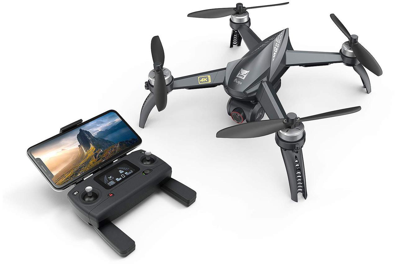 Квадрокоптер р/к MJX Bugs B5W 4K безколекторний з камерою Wi-Fi