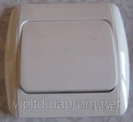Выключатель ABB EL-Bi ZIRVE Fixline для внутреннего (скрытого) монтажа, белый, Турция