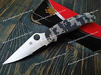 Нож складной SPYD-S30-VK Spyderco Camo FBI Фирменный