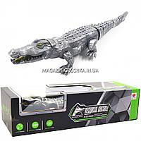 Игрушка робот Крокодил - ходит, звуковые и световые эффекты, 47 см (FK507)
