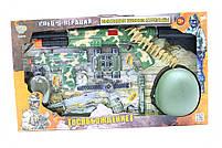 Игрушечный набор военного с каской и аксессуарами, фото 3