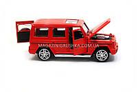 Игрушка машина модель Мерседес Бенц (Mercedes-Benz).Железные игрушечные машинки Гелендваген (Гелик)от Автопром, фото 8