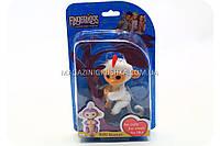 Интерактивная ручная игрушка обезьянка Fingerlings Monkey Белая (аналог) арт.40514, фото 1