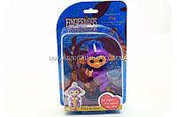 Интерактивная ручная игрушка обезьянка Fingerlings Monkey Фиолетовая (аналог) арт.40514, фото 1