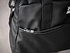 Сумка кожаная спортивная мужская Under Armour (черная), фото 4
