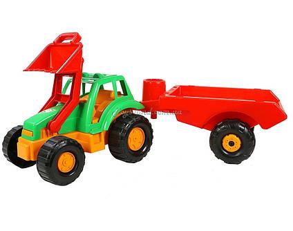 """Трактор """"Оріон з причеп"""", арт. 993, Оріон"""