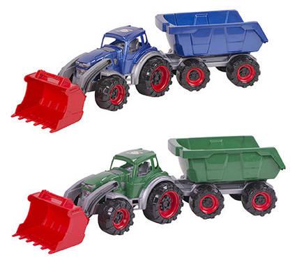 Трактор Texas навантажувач з причеп