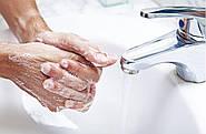 Очищение загрязненных рук