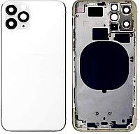 Задняя крышка для iPhone 11 Pro, белая оригинал