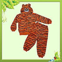 """Детский костюм """"Тигрулька"""" с вельсофта."""