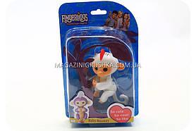 Інтерактивна ручна іграшка мавпочка Fingerlings Monkey Біла (аналог) арт.40514