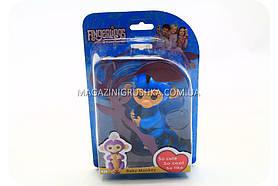 Інтерактивна ручна іграшка мавпочка Fingerlings Monkey Блакитна(аналог) арт.40514