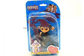 Інтерактивна ручна іграшка мавпочка Fingerlings Monkey Чорна (аналог) арт.40514