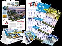 Изготовление настольных календарей с рекламой заказчика, типография Диол-Принт, Одесса, фото 1