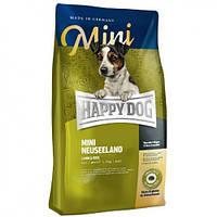 Корм Хеппи Дог Новая Зеландия 8 кг - корм для собак малых пород  ягненок рис