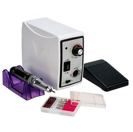 Фрезер для маникюра Nail Drill WT-ZS-701/45W 45000 об/мин Белый, фото 2