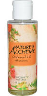 Масло виноградних кісточок з вітаміном E,Масло виноградных косточек с витамином E,118 мл,Nature's Alchemy