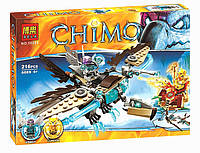 "Конструктор Chimo ""Ледяной гриф-планер Варди"" (217 деталей), фото 1"