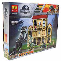 Конструктор Jurassic World Парк Юрского периода Нападение индораптора в поместье Локвуд, 1046 деталей (10928), фото 1