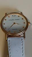 Стильные женские кварцевые наручные часы  Charles Delon. Модель 1458.