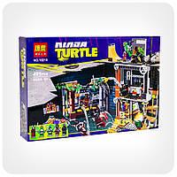 Конструктор Ninja Turtles «Атака логова черепашек», фото 1