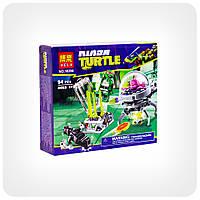 Конструктор Ninja Turtles «Побег Кренга из лаборатории», фото 1
