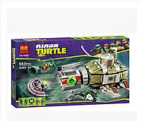 Конструктор Ninja Turtles «Подводная погоня»