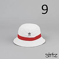 Новенькие Летние Мужские Панамы Adidas Стильные Белые Пляжные Панамки Адидас Мужские