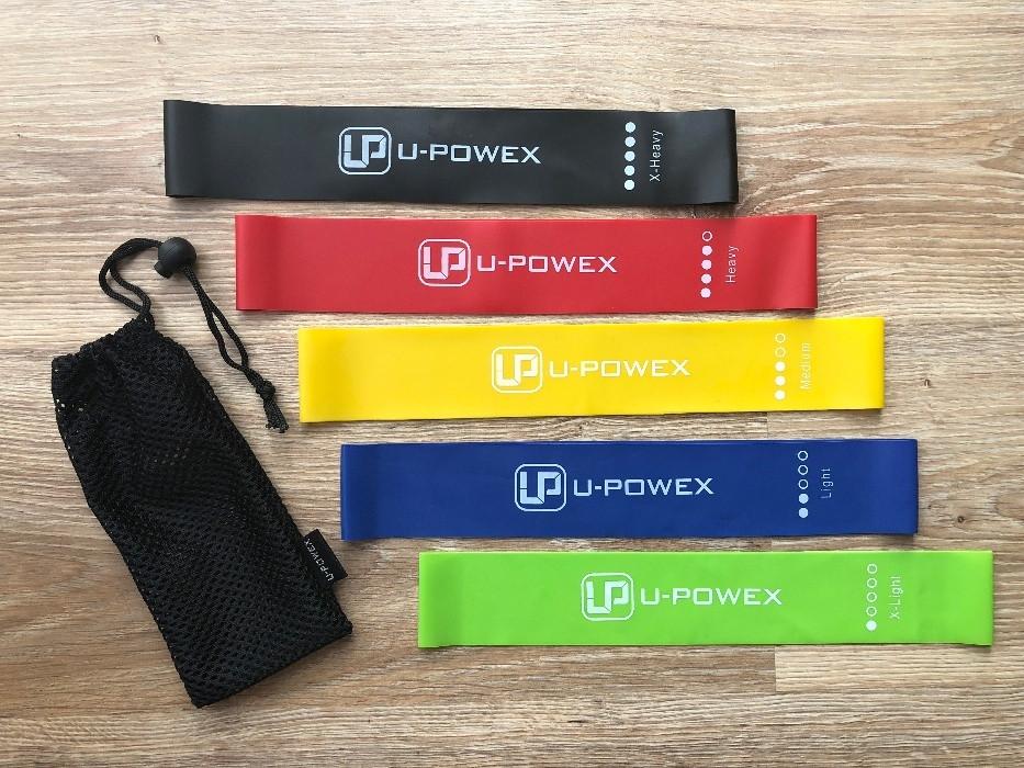 Набор резинок для фитнеса U-powex 5 шт (0003)