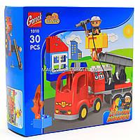 Конструктор «Duplo» (аналог) для малышей «Пожарная машина» 1010