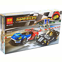 Конструктор «Speed Champions» 2016 Ford GT и 1966 Ford GT40, 392 детали (10780)