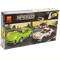 Конструктор «Speed Champions» автомобили PORSCHE 911 RSR и 911 TURBO 3.0, 409 деталей (10946)