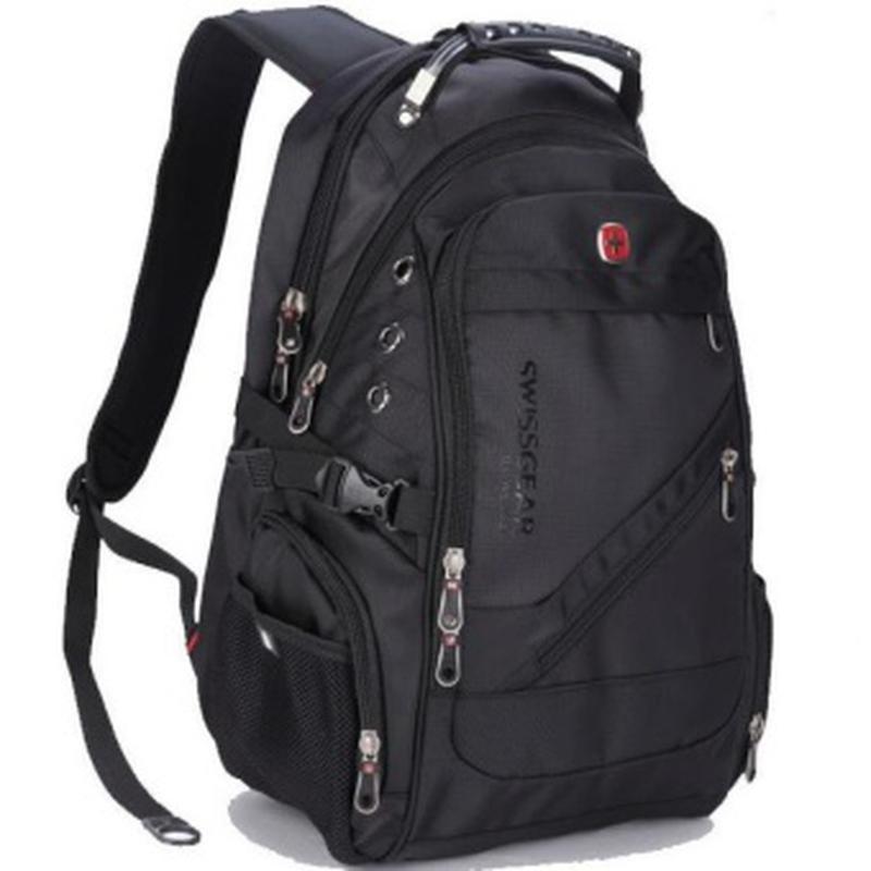 Black Swiss BagРюкзак Swissgear Черный (8810)