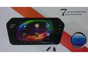 "Монитор-накладка для камеры заднего вида 7"" 719 BT/USB/TF/MP5 (MD-0711)"