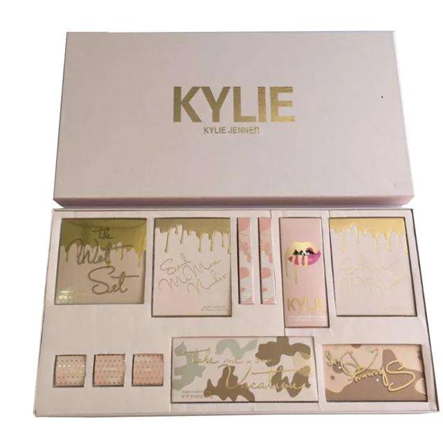 Набор декоративной косметики бежевый Kylie Jenner