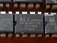 MX25L8005 / 25L8005PC-15G DIP8 - 1Mb Serial CMOS Flash