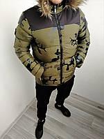 Новые Мужские Зимние Болоньевые Куртки Турецкие Куртка Мужская Хаки С Мехом