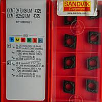 CCMT 09T308-UM 4325 Sandvik  ORIGINAL Пластина твердосплавная