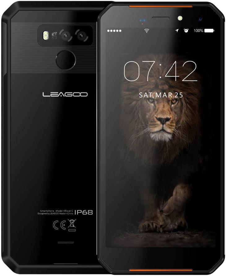 Leagoo xRover C | Черный | IP68 | 2/16Гб | 4G/LTE | Гарантия