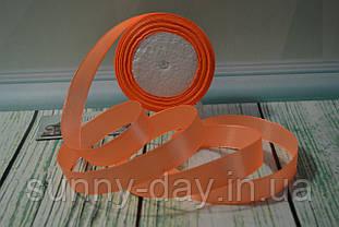 Стрічка атласна, 20мм (22метра), колір - персиковий