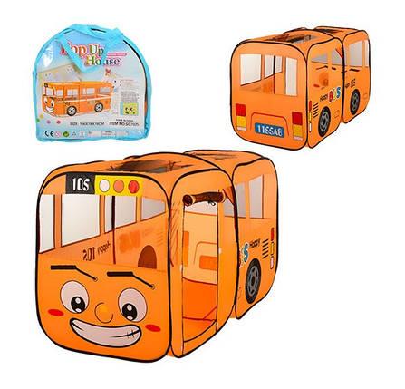Дитячий ігровий намет M 1183 Веселий автобус, фото 2