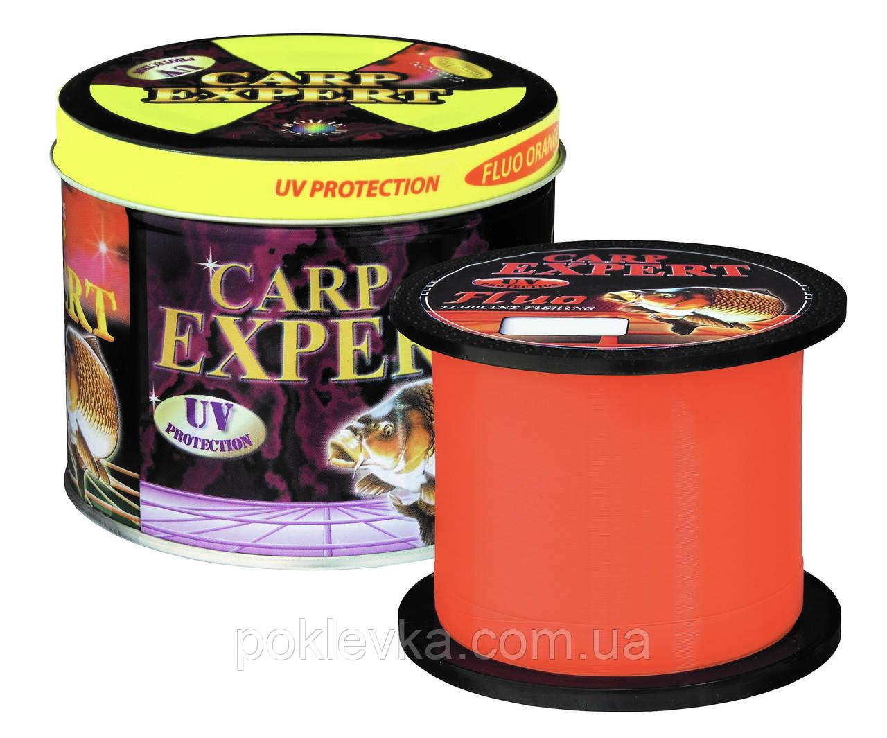 Леска Carp Expert UV Fluo Orange 1000 м 0.30 мм 12.5 кг (30114830)