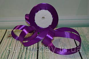 Стрічка атласна, 20мм (22метра), колір - темно фіолетовий