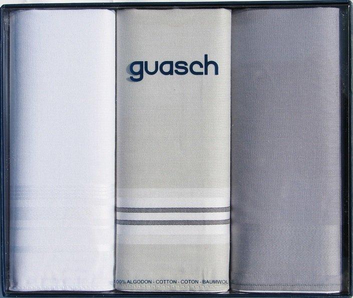 Комплект мужских носовых платков Guasch Sena 90-05 (1090)
