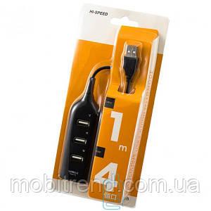 USB Hub H-35 4 PORT 0.5m black