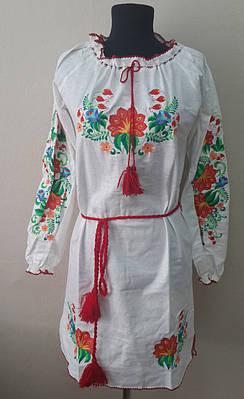 """Платье вышитое """"Весна"""""""